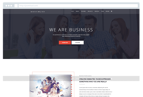 Business - Onepage