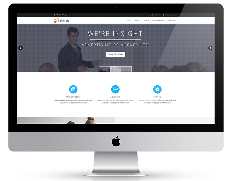 Creative Joomla Business Template