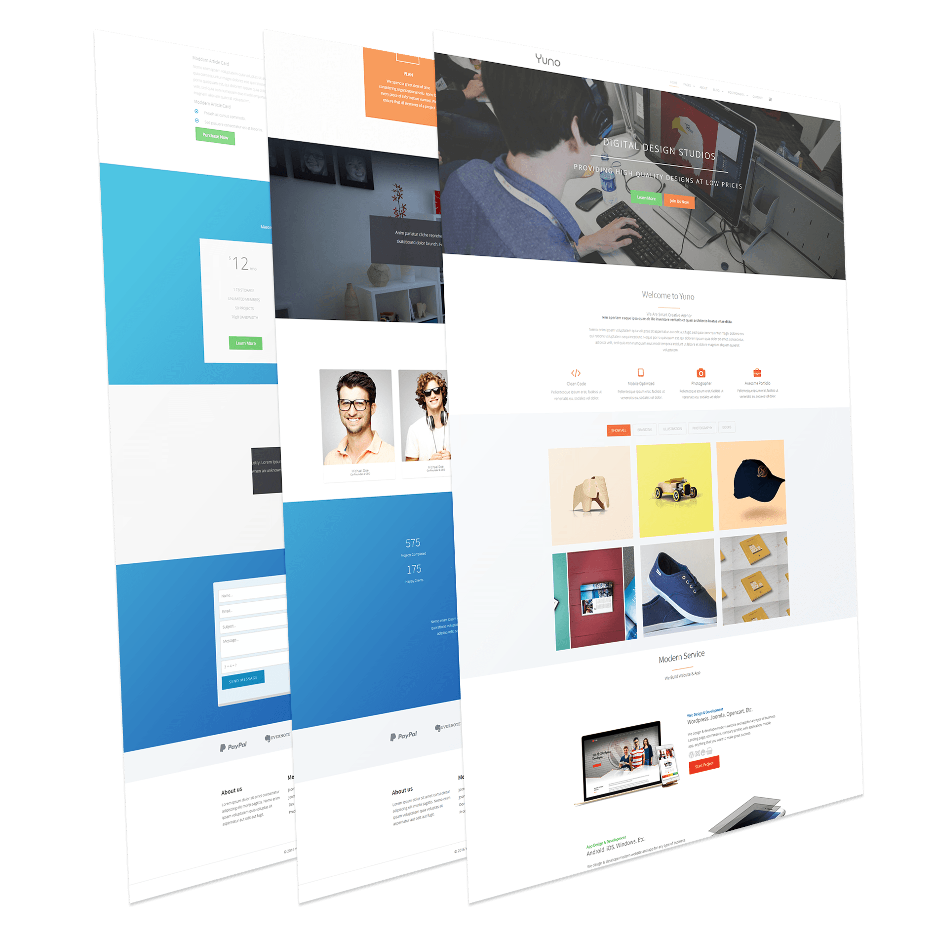 Agency Joomla Template