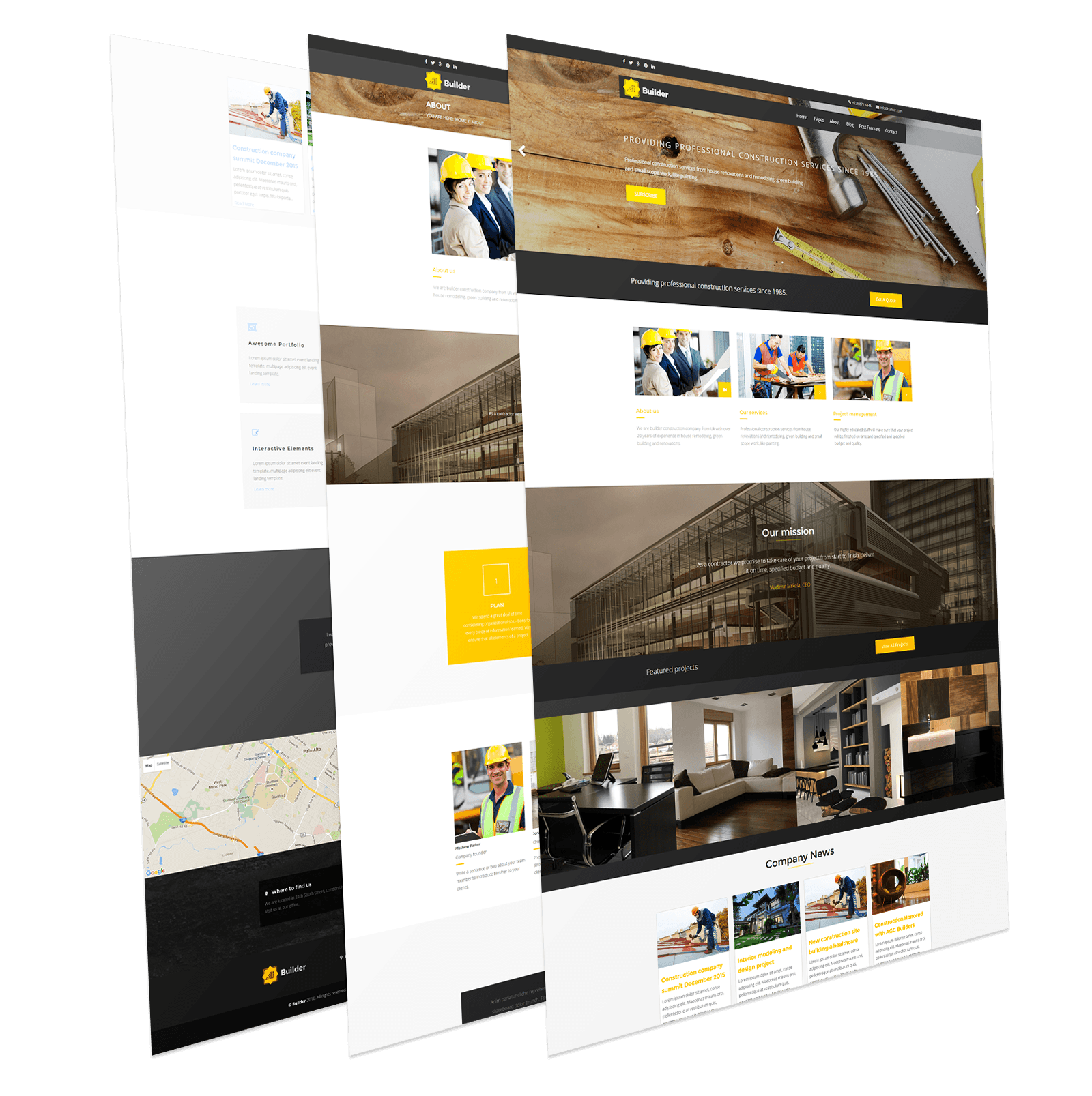 Construction joomla template builder joomlead for Joomla template builder software