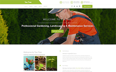 landscaping website templates