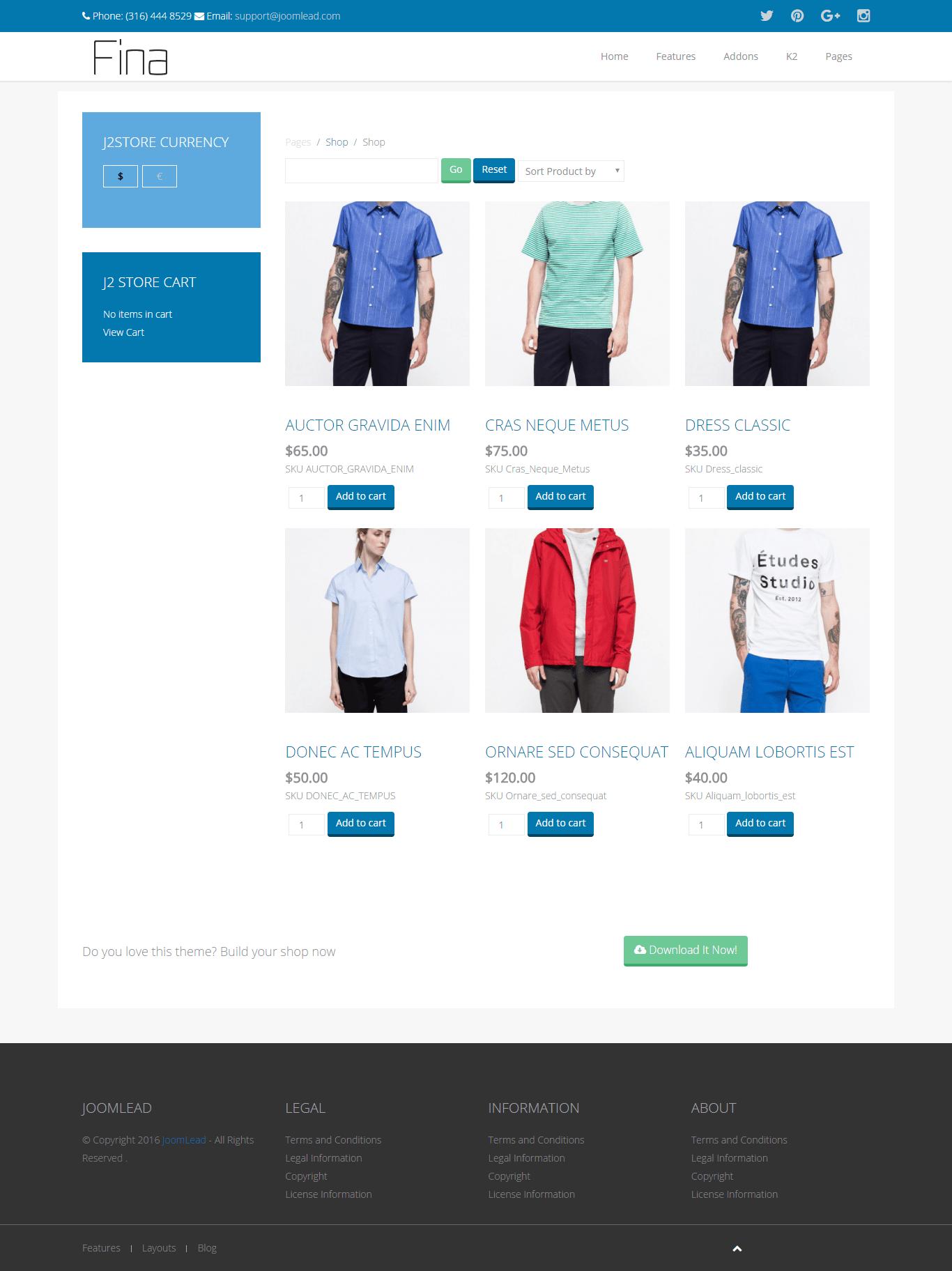 fina shop