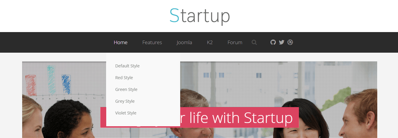 startup color