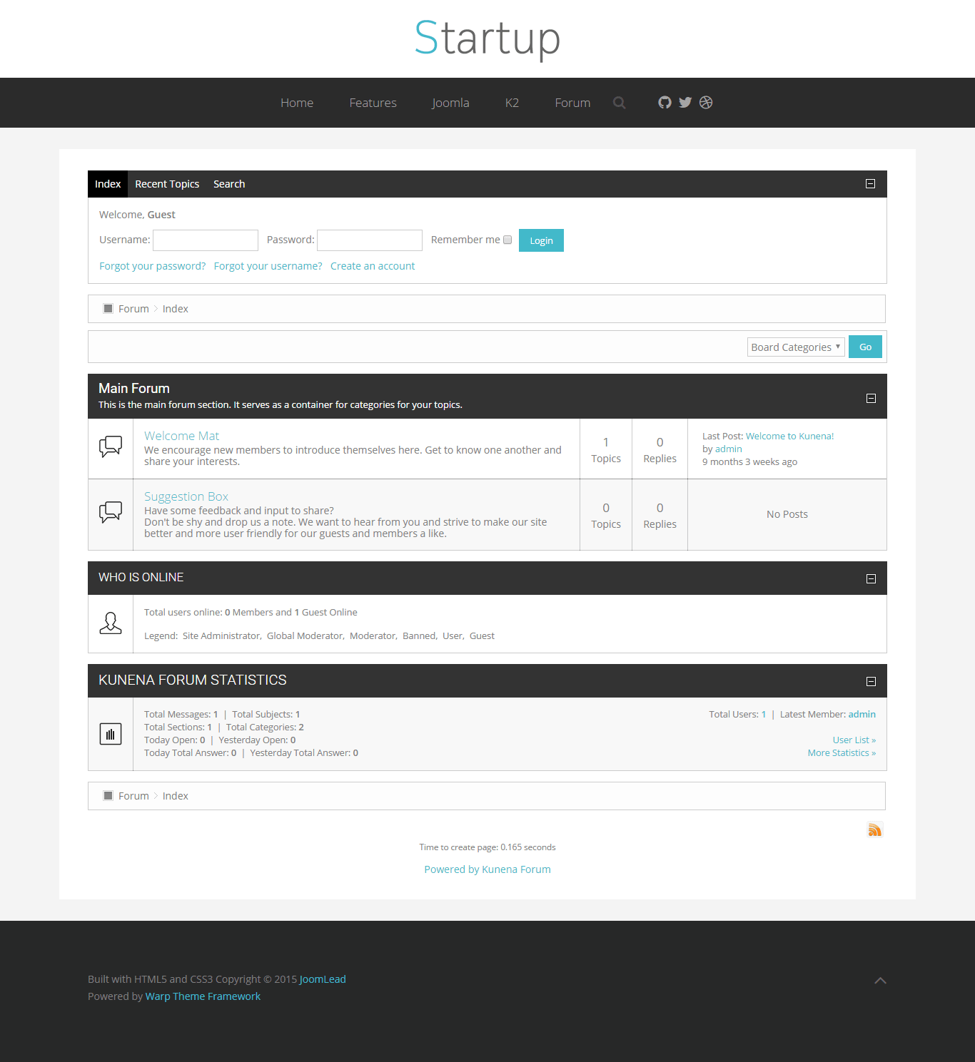 startup forum