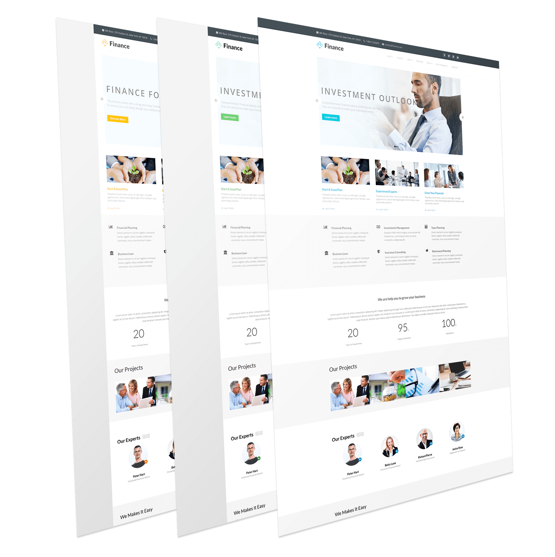 Finance Corporate Joomla Template