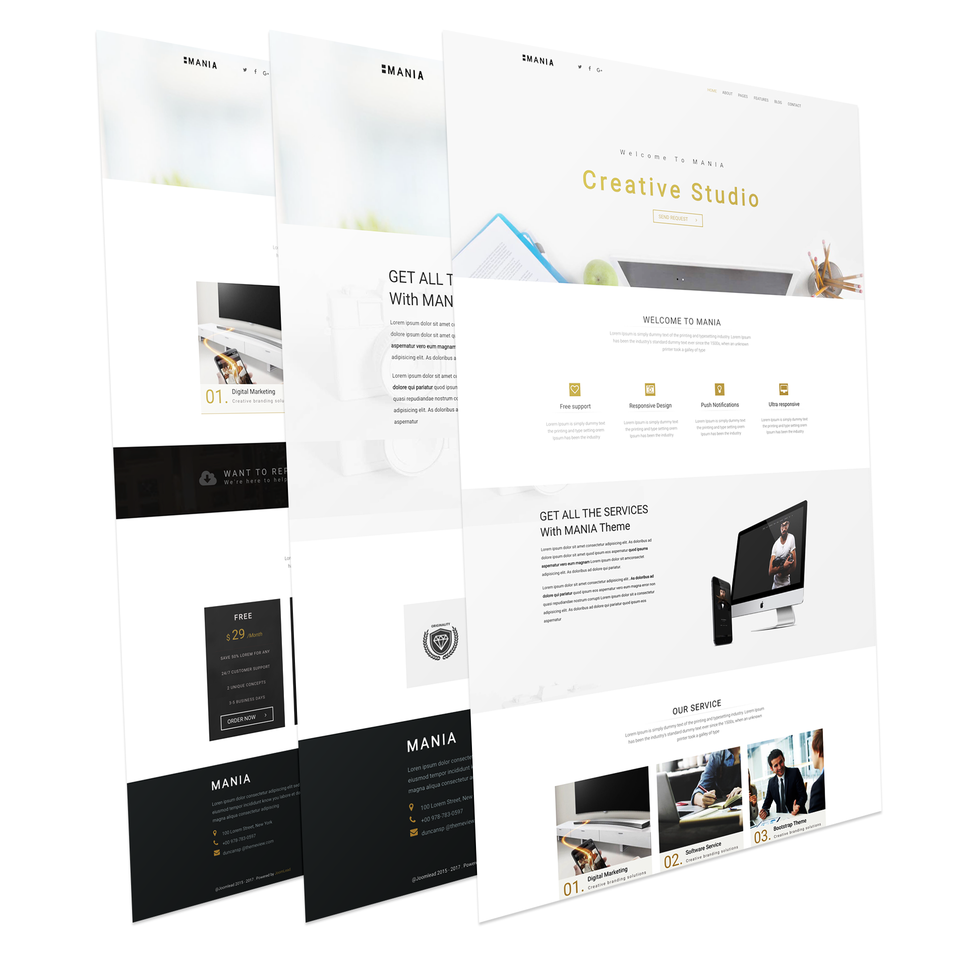 Business Joomla Theme