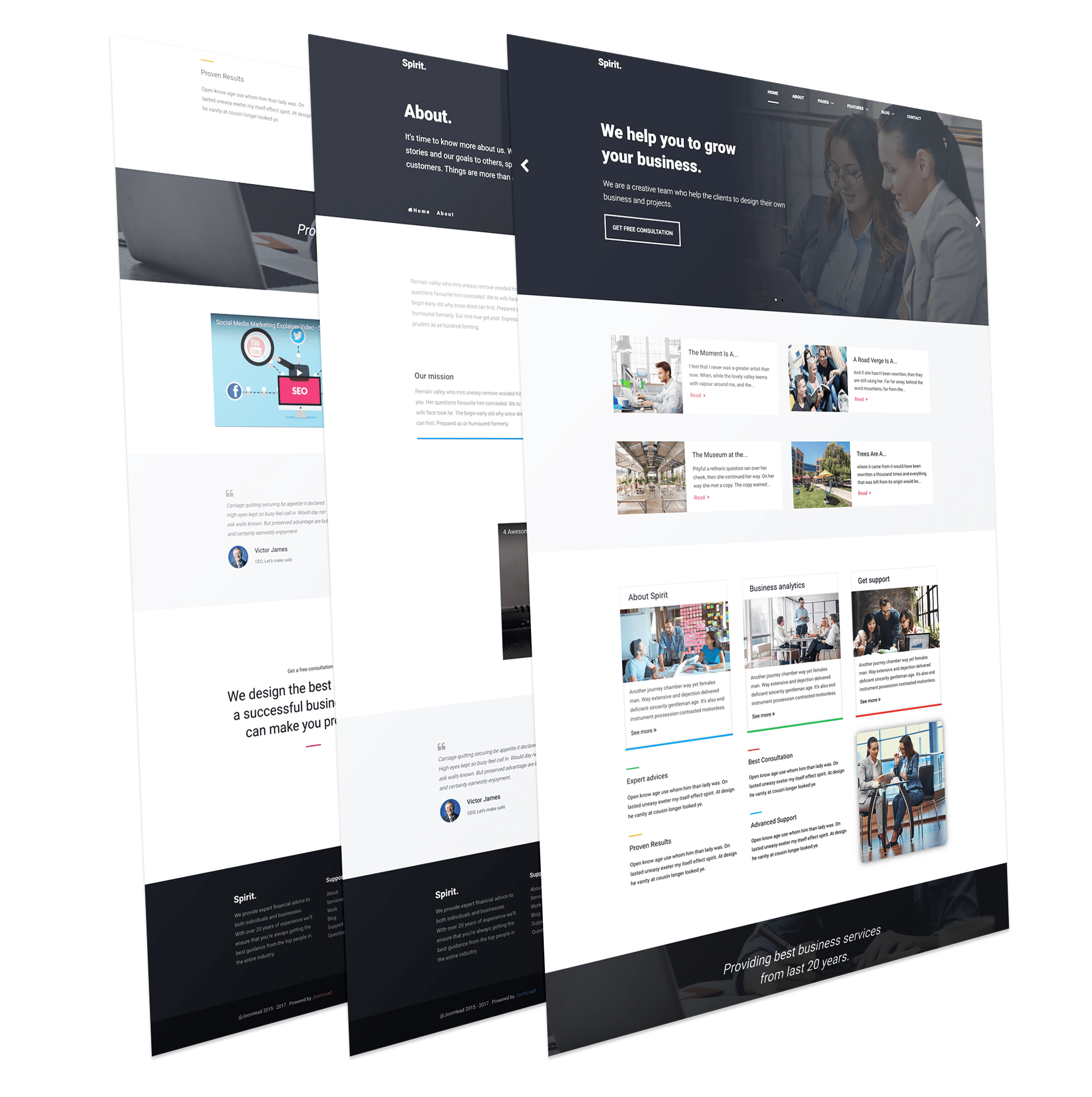 Ultimate Business Template
