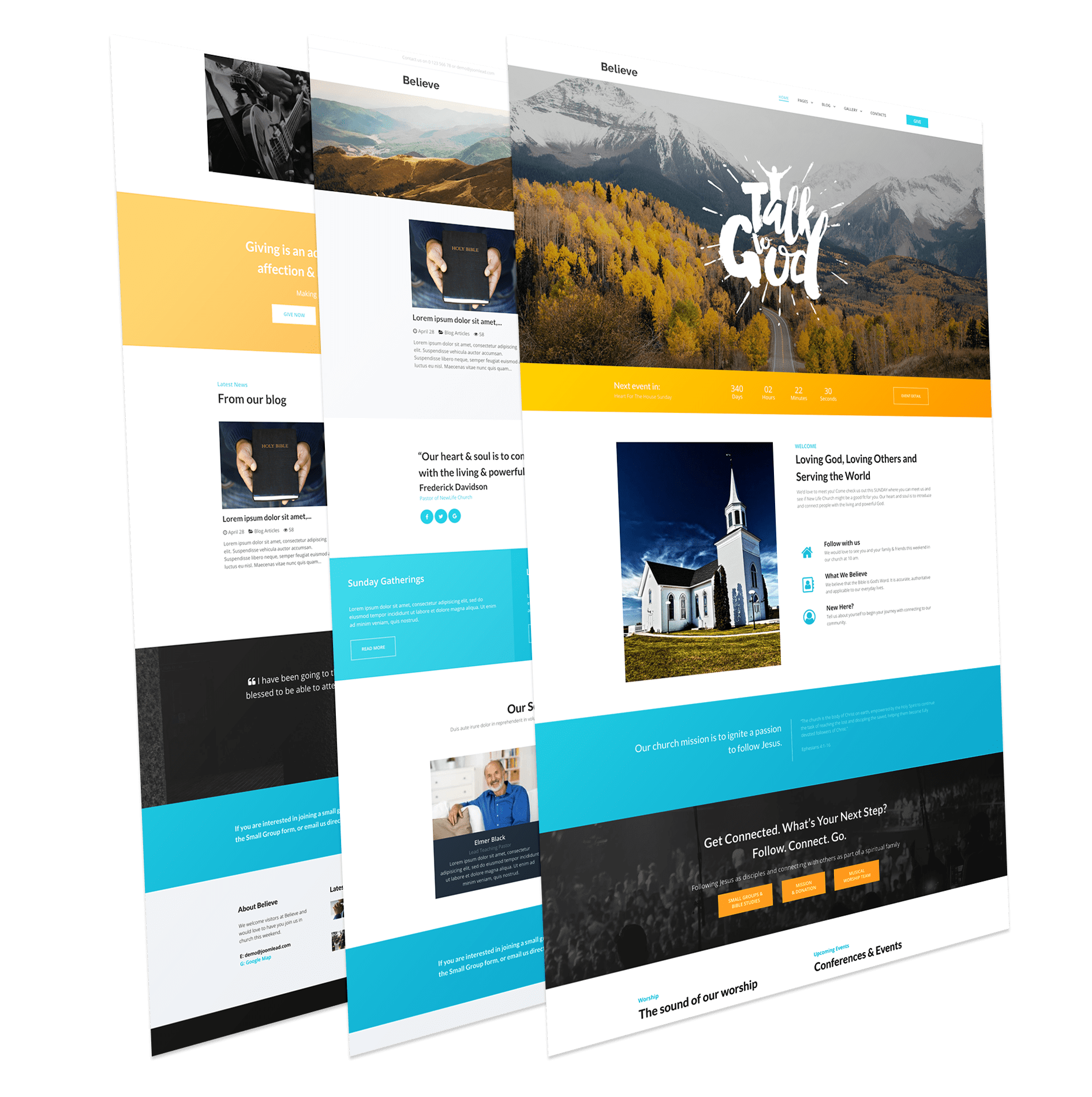 Church Joomla Template