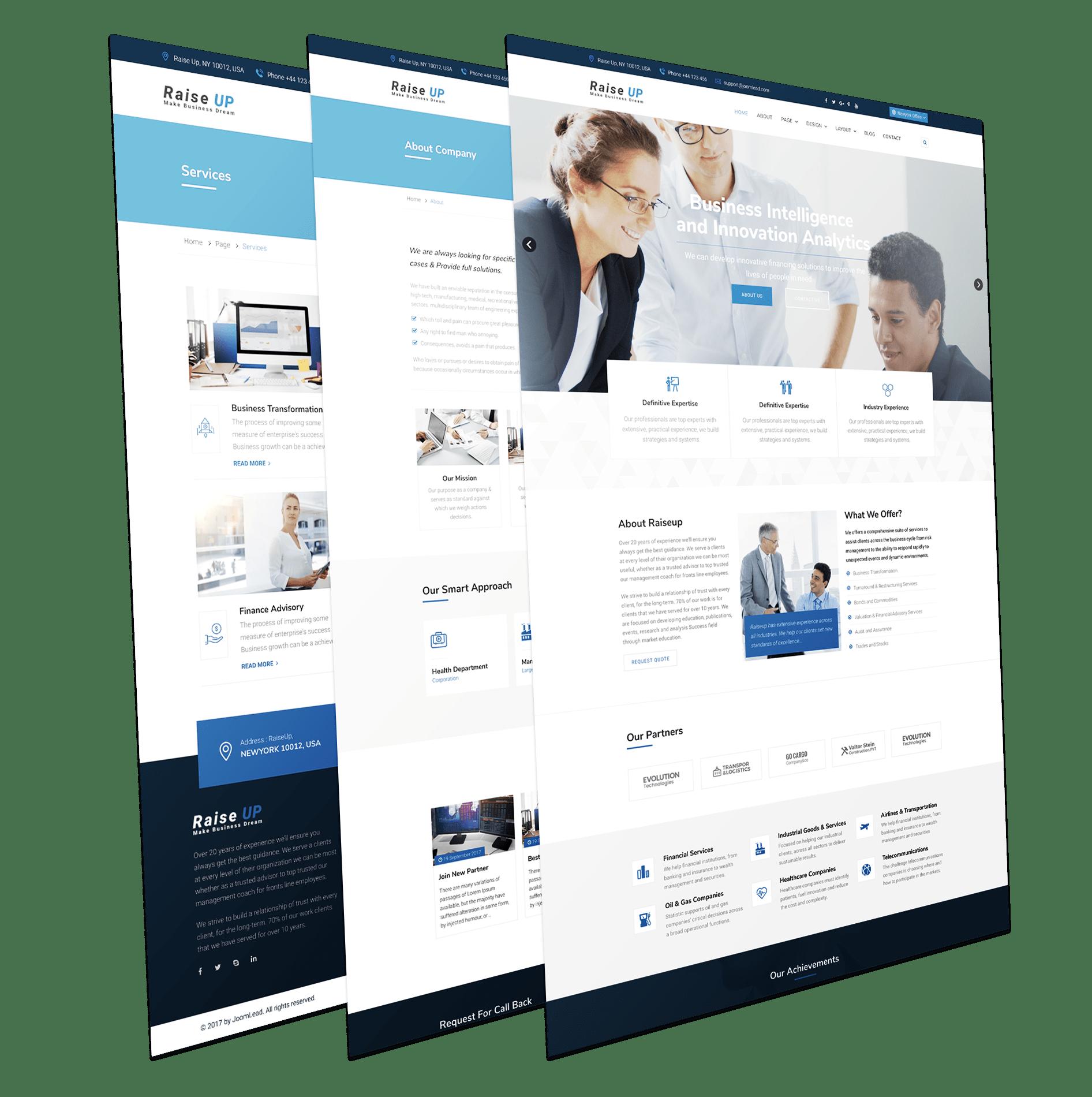 Business Consulting Joomla