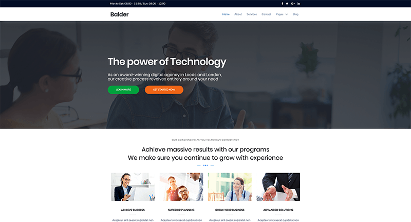 Balder WordPress